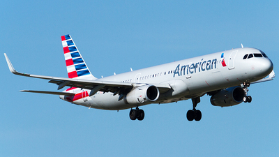 N153AN - Airbus A321-231 - American Airlines