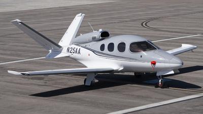 N25AA - Cirrus Vision SF50 - Private