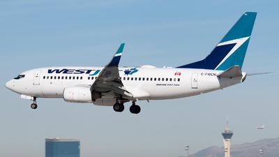 C-FWCN - Boeing 737-7CT - WestJet Airlines