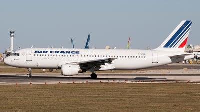 F-GFKG - Airbus A320-111 - Air France