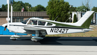 A picture of N1242T - Piper PA28180 - [287205272] - © SpotterPowwwiii