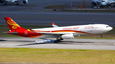 B-LNM - Airbus A330-343 - Hong Kong Airlines