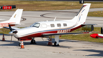 A picture of N448ST - Piper PA46350P Malibu Mirage - [4636448] - © Oliver Richter