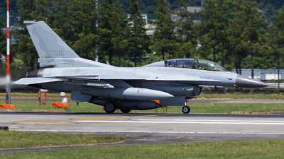 93-115 - Lockheed Martin F-16D Fighting Falcon - South Korea - Air Force