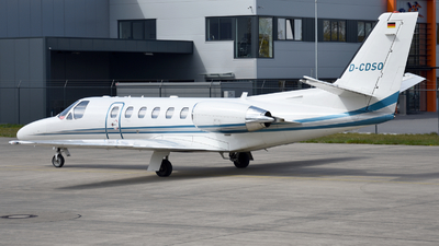 D-CDSO - Cessna 550B Citation Bravo - Heli-Flight