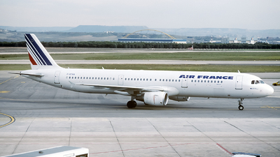 F-GTAA - Airbus A321-211 - Air France
