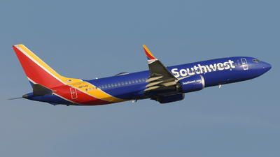 A picture of N8714Q - Boeing 737 MAX 8 - Southwest Airlines - © DJ Reed - OPShots Photo Team