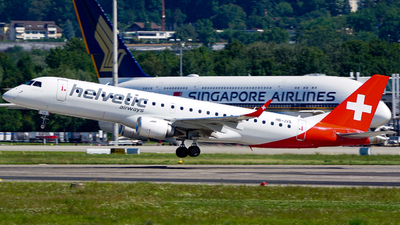 HB-JVS - Embraer 190-100LR - Helvetic Airways