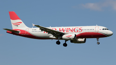 VP-BWX - Airbus A320-232 - Red Wings