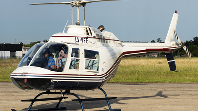 LV-VFF - Bell 206B JetRanger III - Private