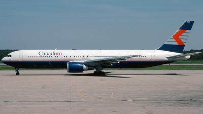 C-FCAE - Boeing 767-375(ER) - Canadian Airlines International