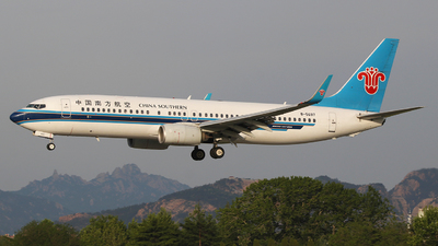 A picture of B5697 - Boeing 73781B - China Southern Airlines - © SEN BAI