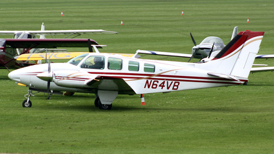 A picture of N64VB - Beech 58 Baron - [TH305] - © Terry Figg