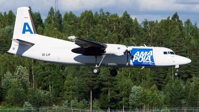 A picture of SELIP - Fokker 50(F) - Amapola Flyg - © Laszlo Fekete