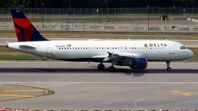 N366NW - Airbus A320-212 - Delta Air Lines