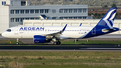 SX-NEO - Airbus A320-271N - Aegean Airlines
