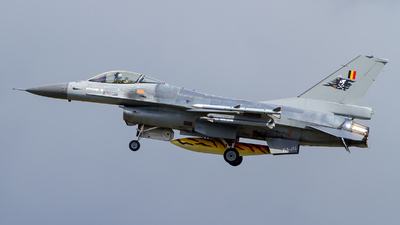 FA-106 - General Dynamics F-16AM Fighting Falcon - Belgium - Air Force