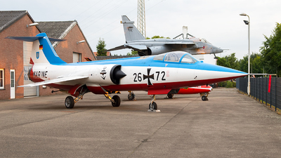 26-72 - Lockheed F-104G Starfighter - Germany - Navy