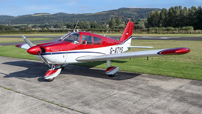 G-ATYS - Piper PA-28-180 Cherokee C - Private