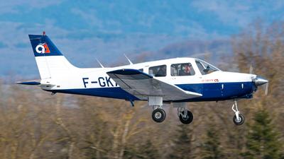 A picture of FGKAP - Piper PA28161 Warrior II - [288216072] - © Stefan Gschwind
