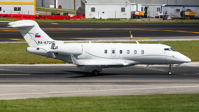 RA-67217 - Bombardier BD-100-1A10 Challenger 300 - Tulpar