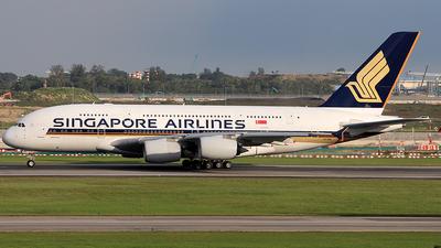 9V-SKK - Airbus A380-841 - Singapore Airlines - Flightradar24