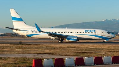 SP-ESA - Boeing 737-8Q8 - Enter Air