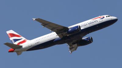 G-MIDT - Airbus A320-232 - British Airways