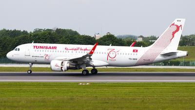 TS-IMW - Airbus A320-214 - Tunisair