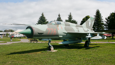 776 - Mikoyan-Gurevich MiG-21MF Fishbed J - German Democratic Republic - Air Force