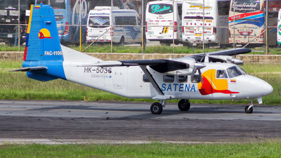 HK-5036 - Harbin Y-12E - Satena