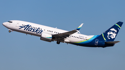 A picture of N548AS - Boeing 737890 - Alaska Airlines - © Brandon Giacomin