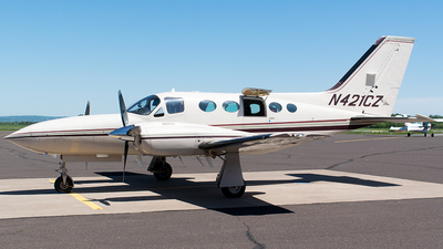 A picture of N421CZ - Cessna 421C Golden Eagle - [421C1095] - © John Newsome