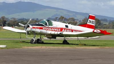 ZK-EGK - New Zealand Aerospace FU-24-950 - Wanganui Aero Work