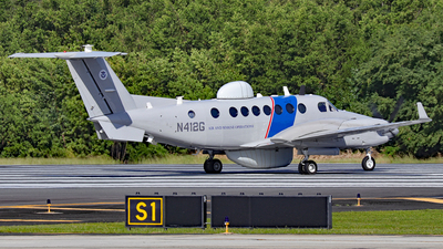 N412G - Beechcraft B300C King Air 350C - United States - US Department Of Homeland Security