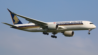 A picture of 9VSMV - Airbus A350941 - Singapore Airlines - © R-H Chen