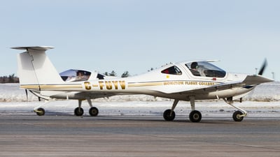 C-FUYV - Diamond DA-20-C1 Eclipse - Moncton Flight College