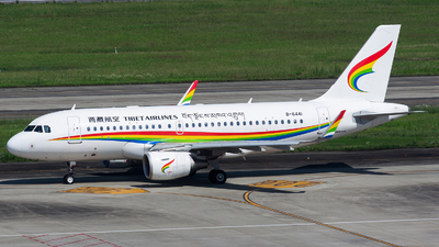 A picture of B6441 - Airbus A319115 - Tibet Airlines - © Marcus Yu