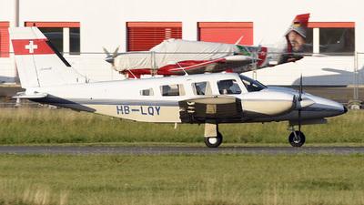 A picture of HBLQY - Piper PA34220T Seneca II - [3448006] - © Mirko Bleuer