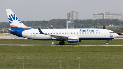 D-ASXB - Boeing 737-8Z9 - SunExpress Germany