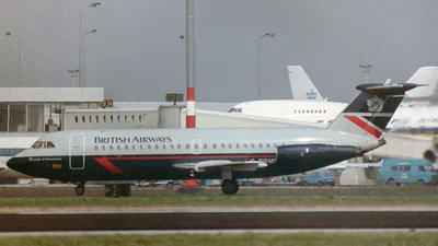 G-BBMF - British Aircraft Corporation BAC 1-11 Series 401AK - British Airways