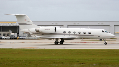 N186DS - Gulfstream G-IV - Private