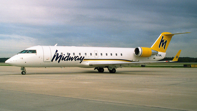 N575ML - Bombardier CRJ-200LR - Midway Airlines