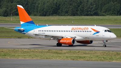A picture of RA89120 - Sukhoi Superjet 10095B - Azimuth - ©  koba emukhvari