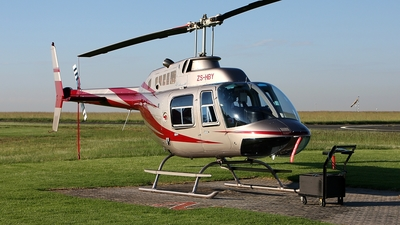 ZS-HBY - Bell 206B JetRanger III - Private