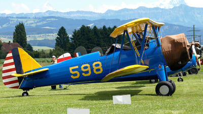 N81172 - Boeing N2S-5 Stearman - Private