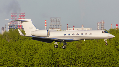 M-ALAY - Gulfstream G550 - Private