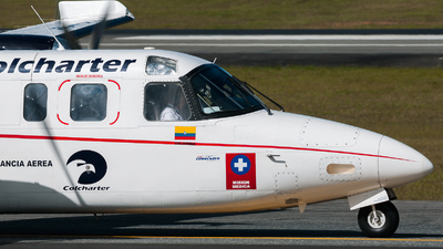 HK-4966 - Rockwell 690A Turbo Commander - Colcharter