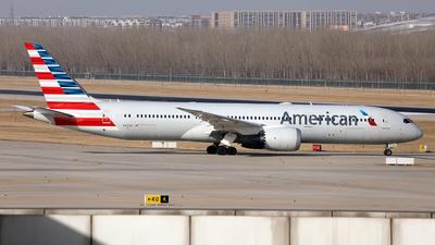 A picture of N831AA - Boeing 7879 Dreamliner - American Airlines - © Liu Yonggang