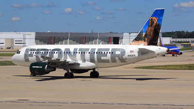 N951FR - Airbus A319-112 - Frontier Airlines
